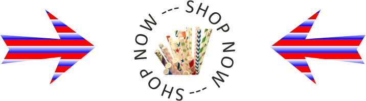 shop now paper drinking straws