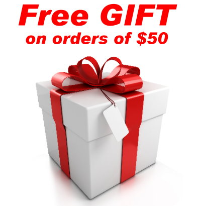 Free Gift on orders of $50